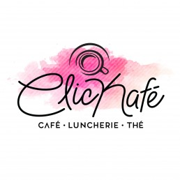 logo clickafe café