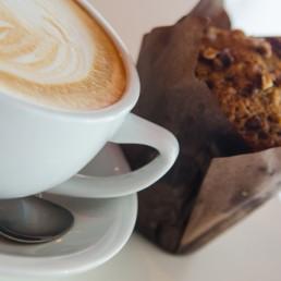 muffin et café