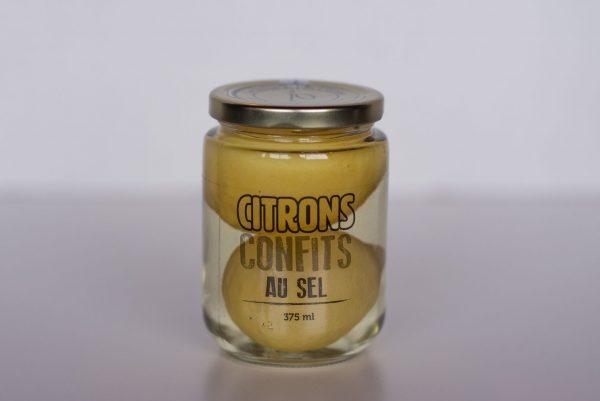 Citron confits au sel
